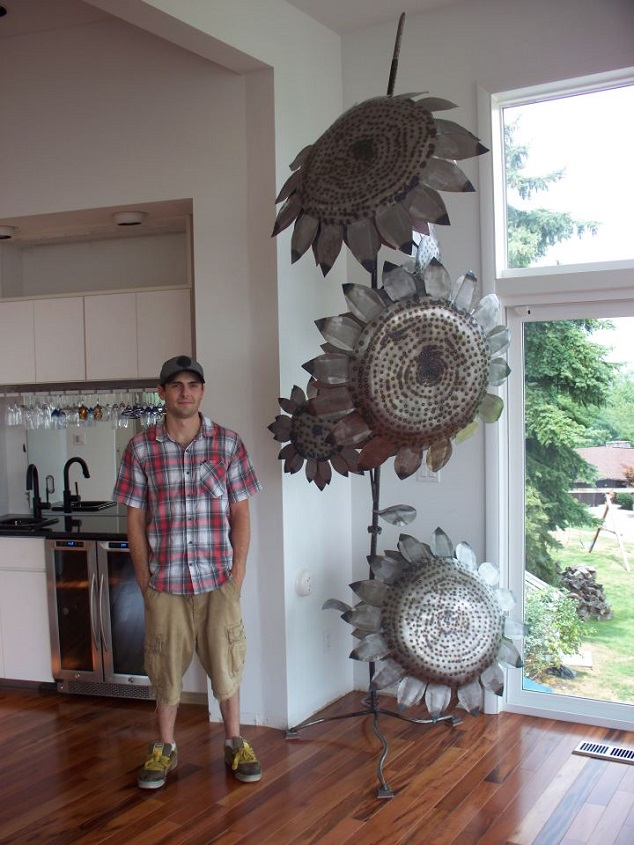 Made with Love: Metal Works by Zac Campbell of WV