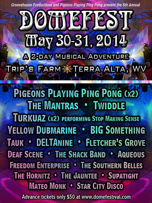 Domefest May 30-31, 2014 Preview