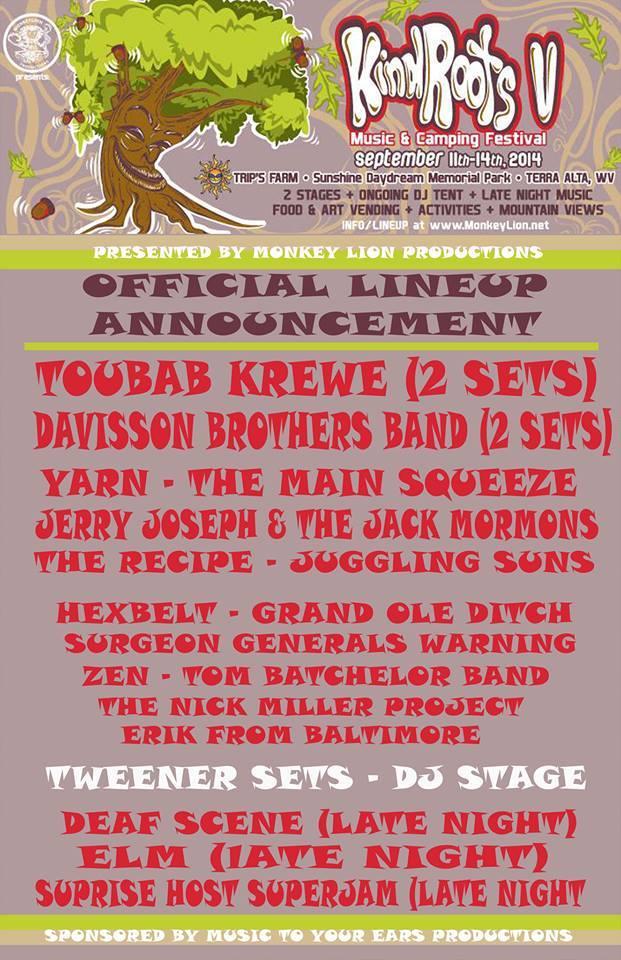 Kind Roots Festival Artist Spotlight on: Toubab Krewe