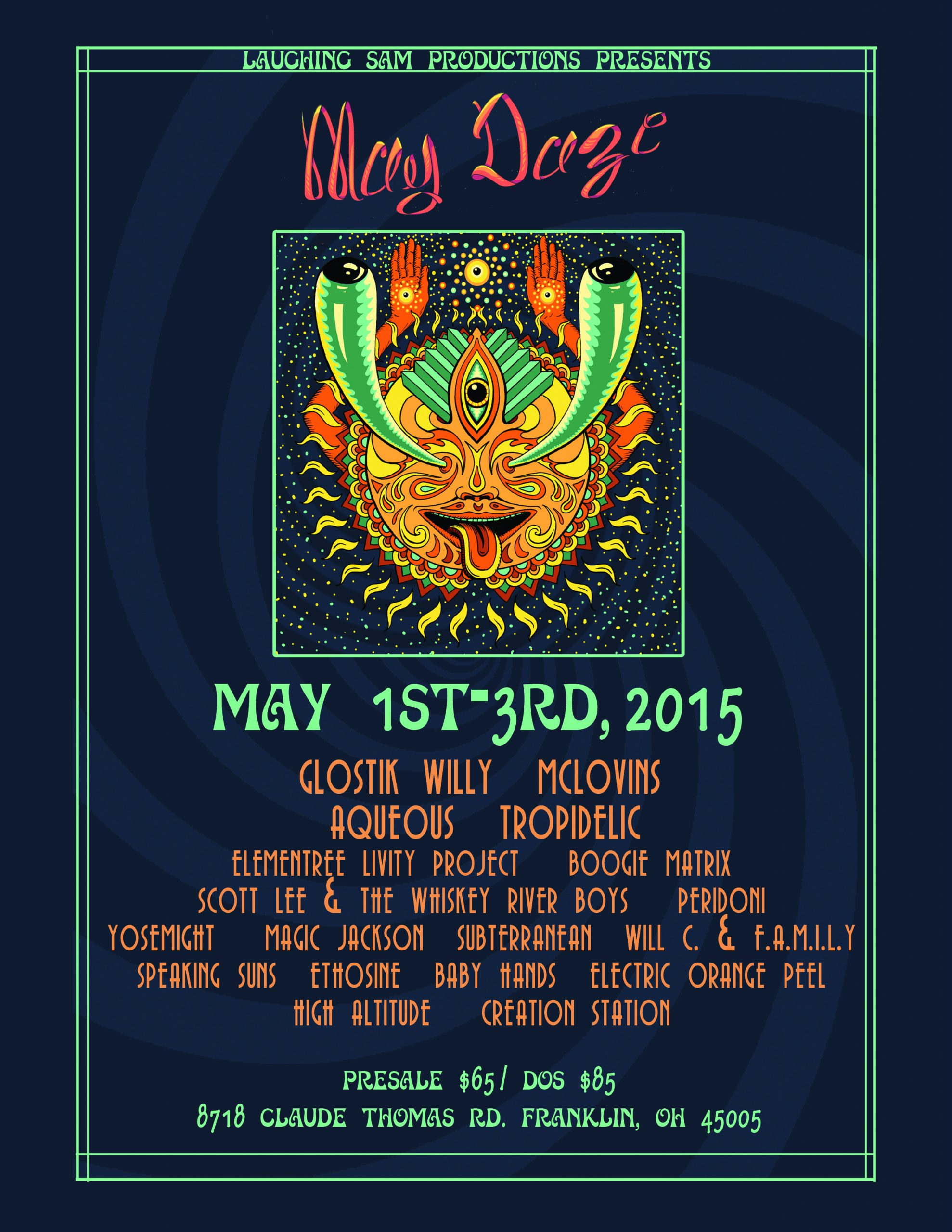 May Daze Music Festival Preview May 1-3 THIS WEEKEND!