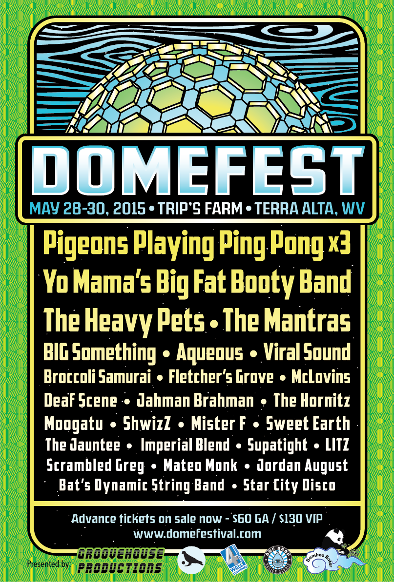 Domefest May 28-30, 2015 Preview