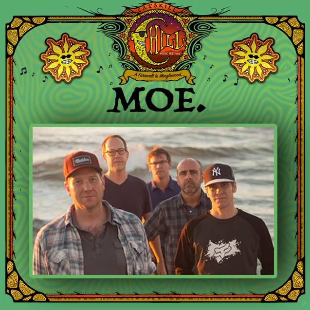 Catskill Chill Music Festival Adds moe. To The Line-up!