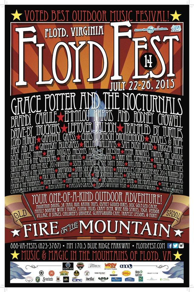 FloydFest Roars into Festival Season with a Fiery New Theme