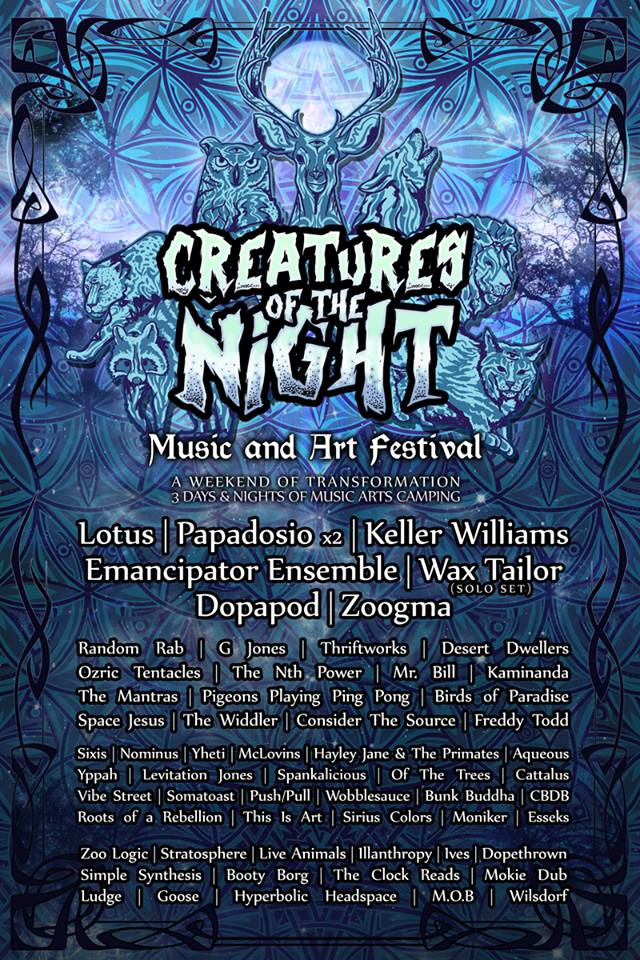 Creatures of the Night Oct 9-11 Preview