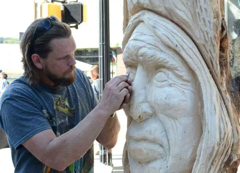 Michael Long's Art Exhibit at Dante's Bar: Face Value