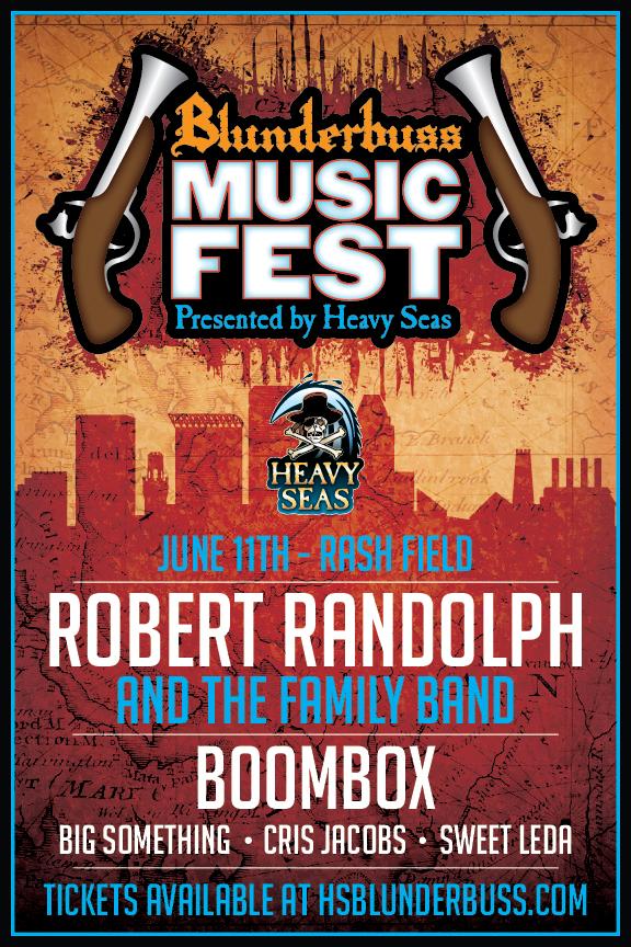 Heavy Seas Announces Final Blunderbuss Music Fest Lineup