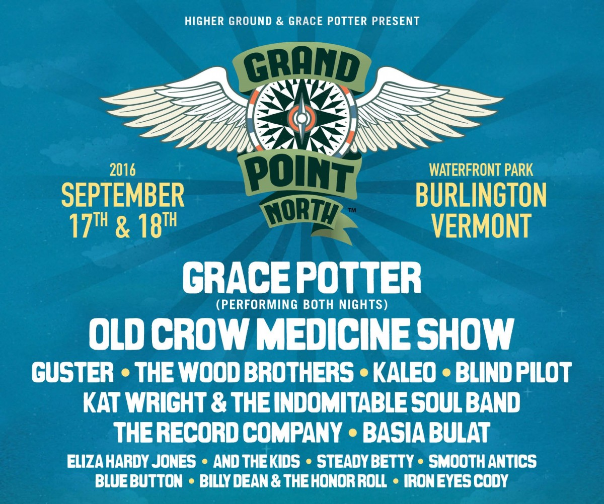 Grace Potter Announces Lineup for Sixth Annual Grand Point North Festival Sept 17-18