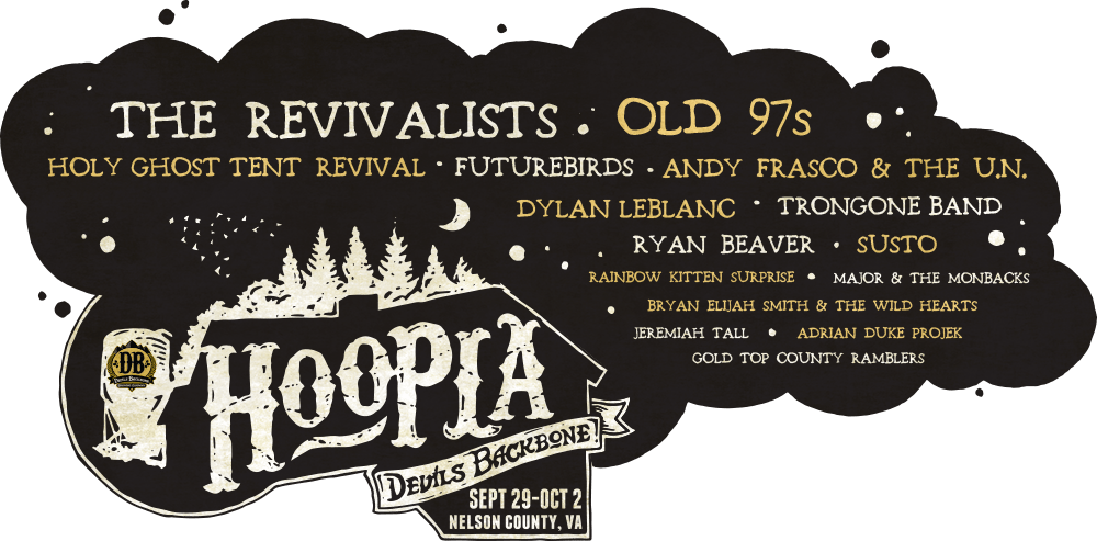 Holla For Hoopla!  Devils Backbone Hoopla Preview: Sept 29-Oct 2, Nelson County, VA
