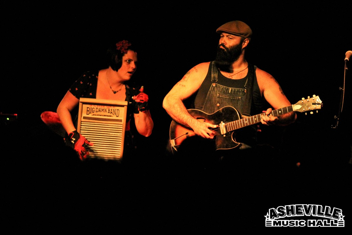 Show Review: Reverend Peyton's Big Damn Band, 11.16.16, Asheville Music Hall
