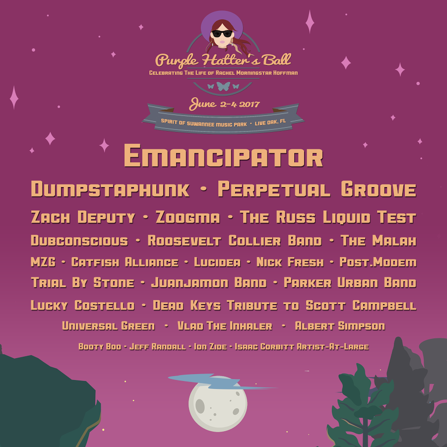 Purple Hatter's Ball Announces Phase Two Lineup
