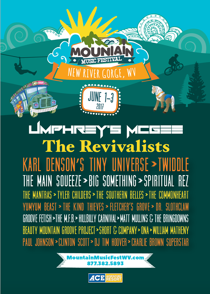 Preview Mountain Music Festival June 1st 3rd Minden Wv