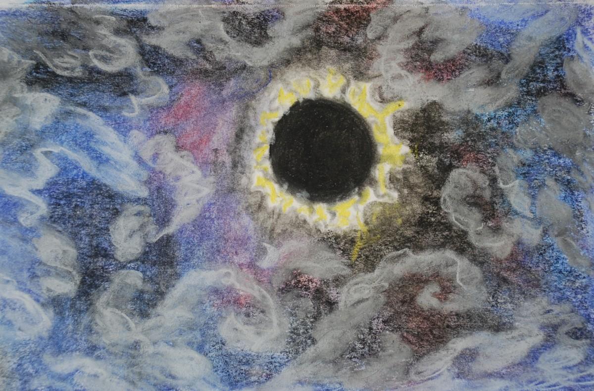 An Artist's Journal : Oregon Eclipse August 17-23, 2017