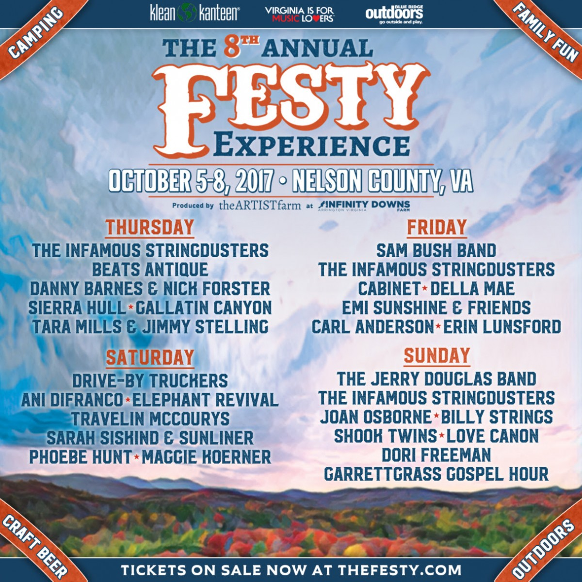 The 8th Annual Festy Experience