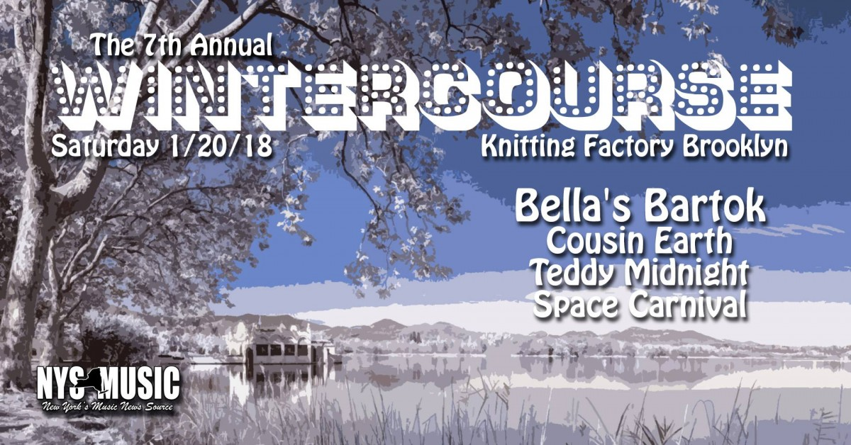 The Knitting Factory Heats Up in January with the 7th Annual Wintercourse!