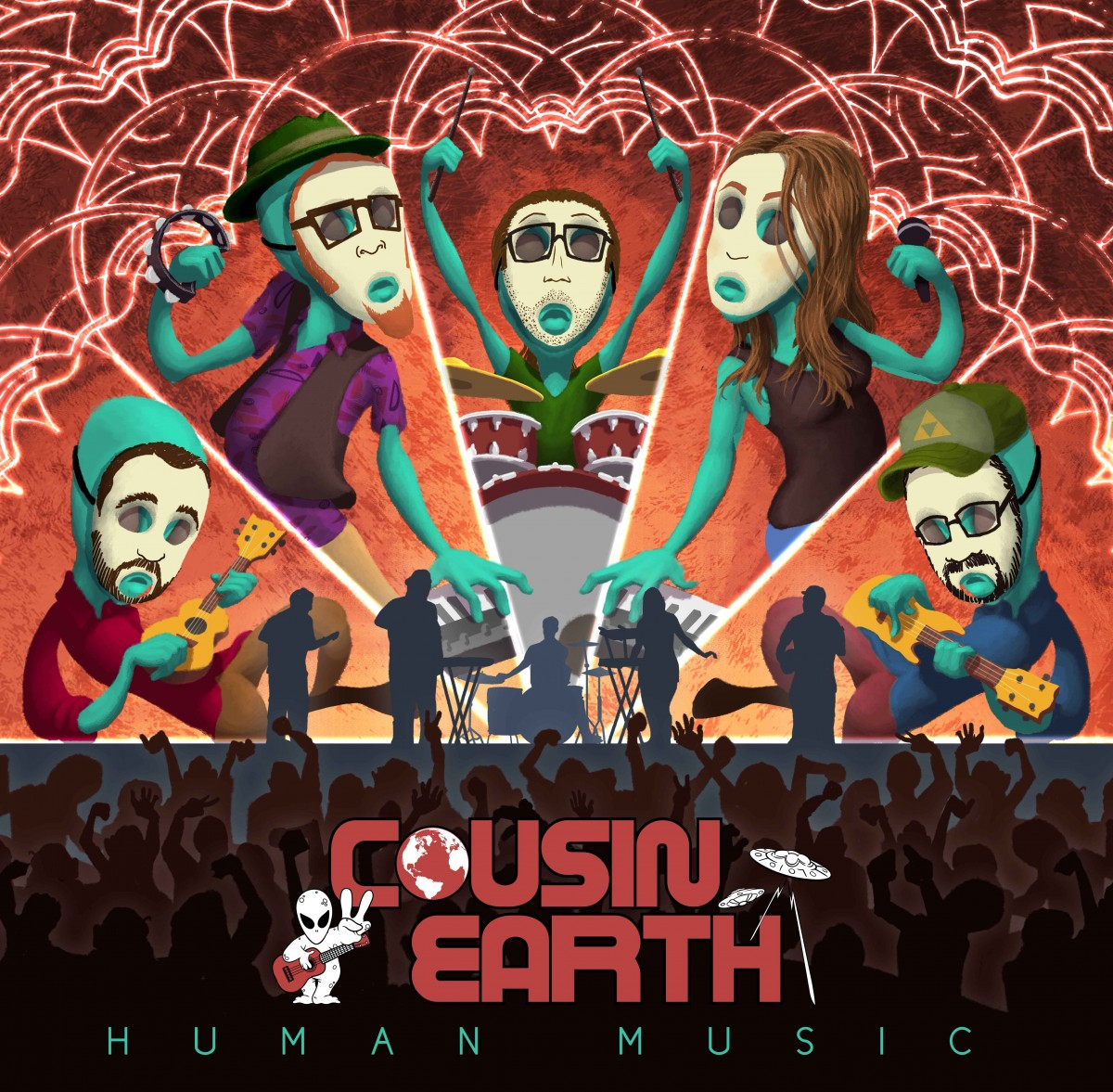 Cousin Earth Announces Release Of 1st Full-length Album In 2018