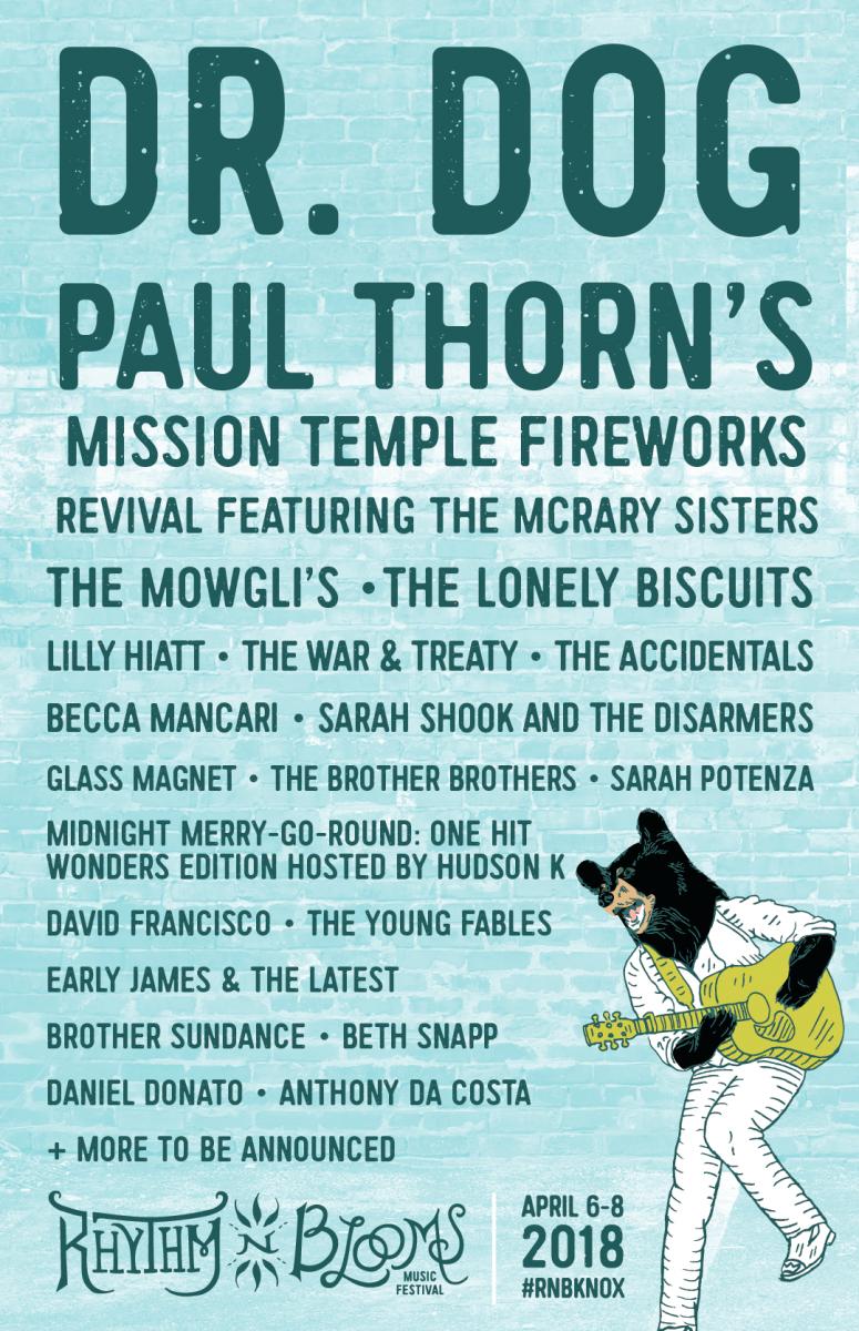 Rhythm 'N' Blooms Festival Announces Initial Lineup
