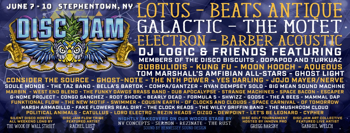 Disc Jam Music Festival Releases 2018 Lineup
