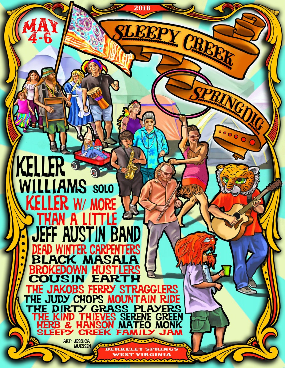 Sleepy Creek SpringDig Returns For its Fifth Year – Lineup Just Released!