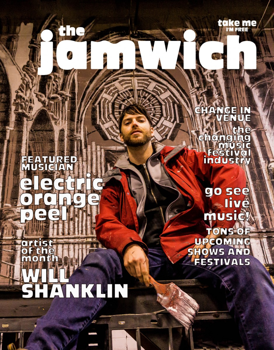 New issue of The Jamwich is now for sale – Issue 70, March 2018