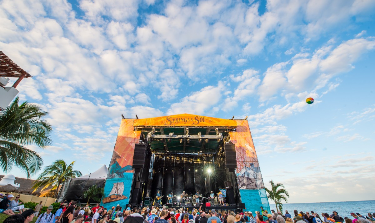 Strings & Sol Announces 2018 Artist Lineup and Event Details for All-Inclusive Concert Vacation in Mexico, December 7-11, 2018