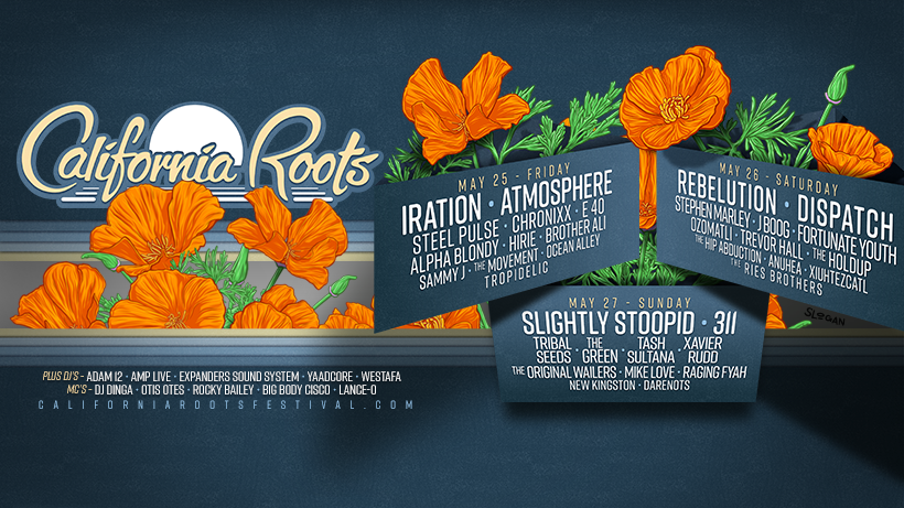 Festival Preview: Head Over to California Roots Festival – THIS WEEKEND!