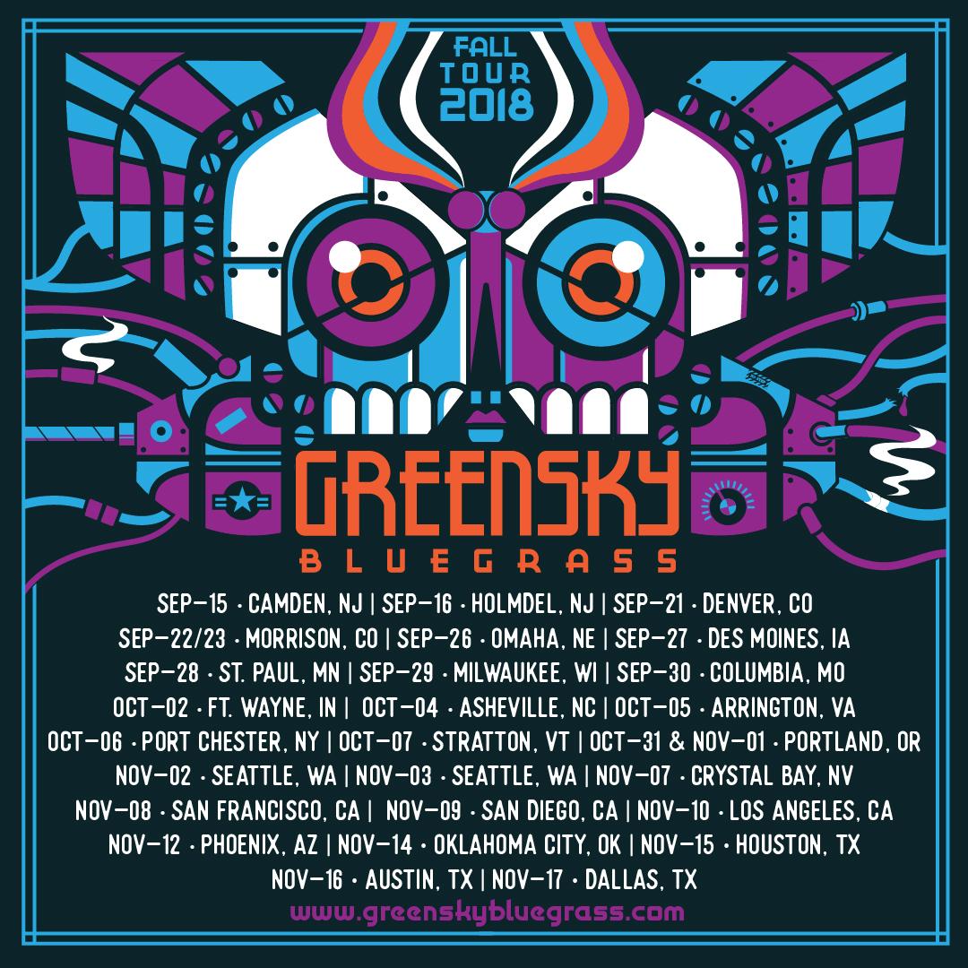 Greensky Bluegrass Announces Fall Tour Dates Spanning Coast to Coast September through November