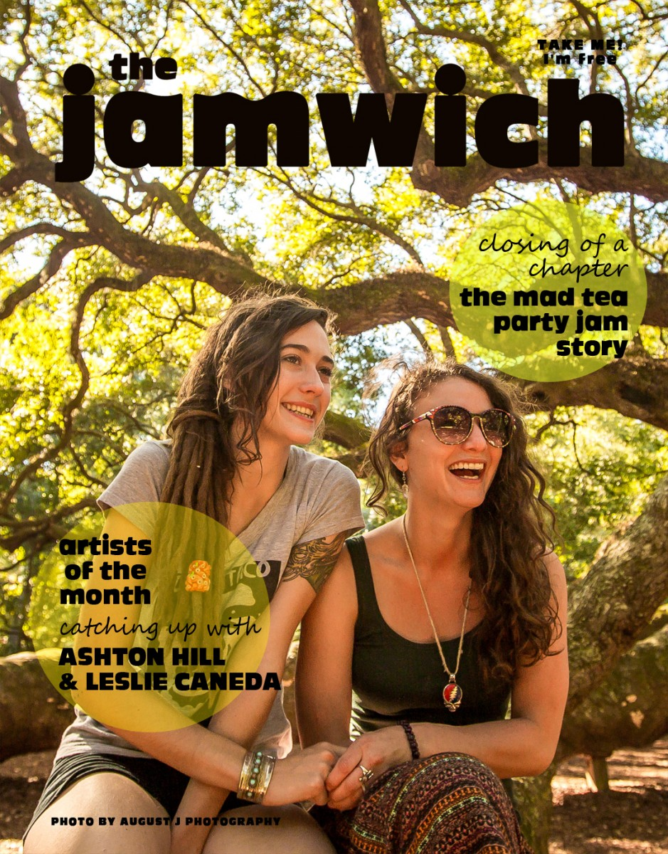 The Newest Issue of The Jamwich is here – Issue 74, The Mad Tea Party Jam Farewell Issue