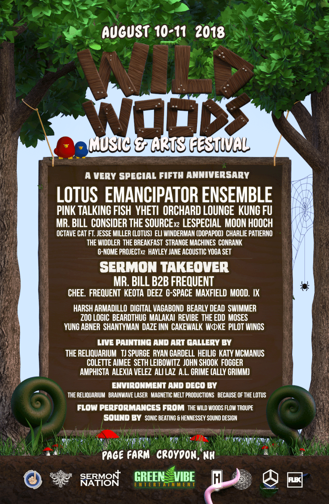 Festival Preview: Get Lost in Nature at Wild Woods August 10-11
