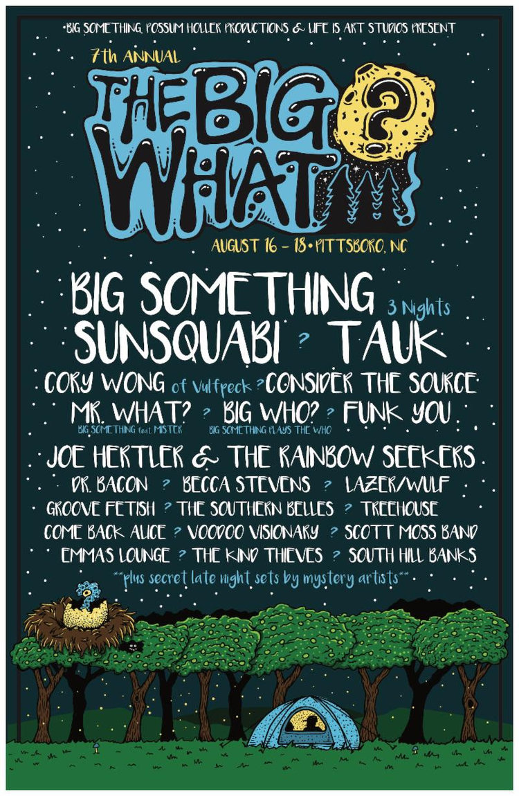 Festival Preview: The Big Where? The Big Who? No! The Big What!?