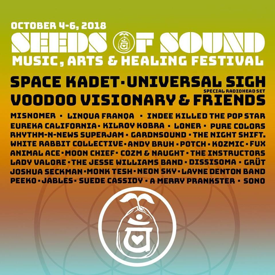 Seeds of Sound Festival Plants the Seed of Music in our Hearts – This Weekend Oct 4-6 in Sparta, GA