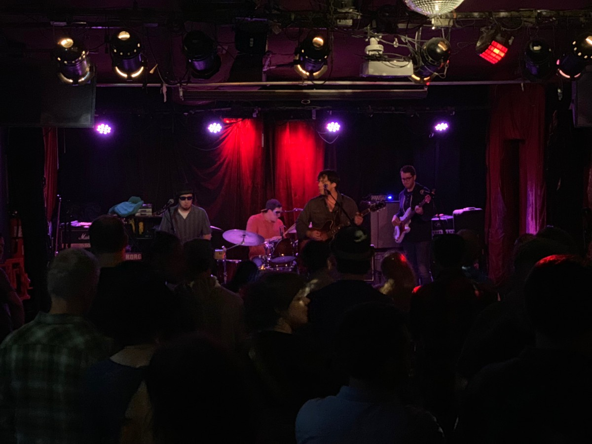 Review: PEAK with Sprocket and Gowanus at Arlene's Grocery, NYC November 2