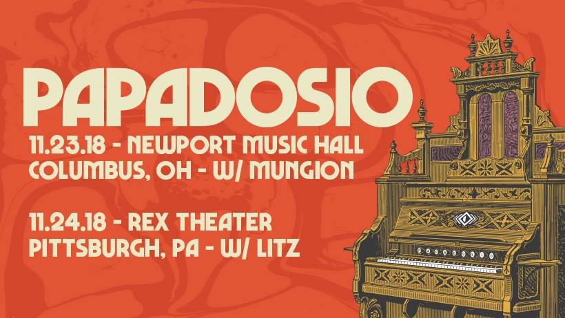 Preview: Papadosio Return to the Midwest for a Two Night Thanksgiving Run in Pittsburgh & Columbus