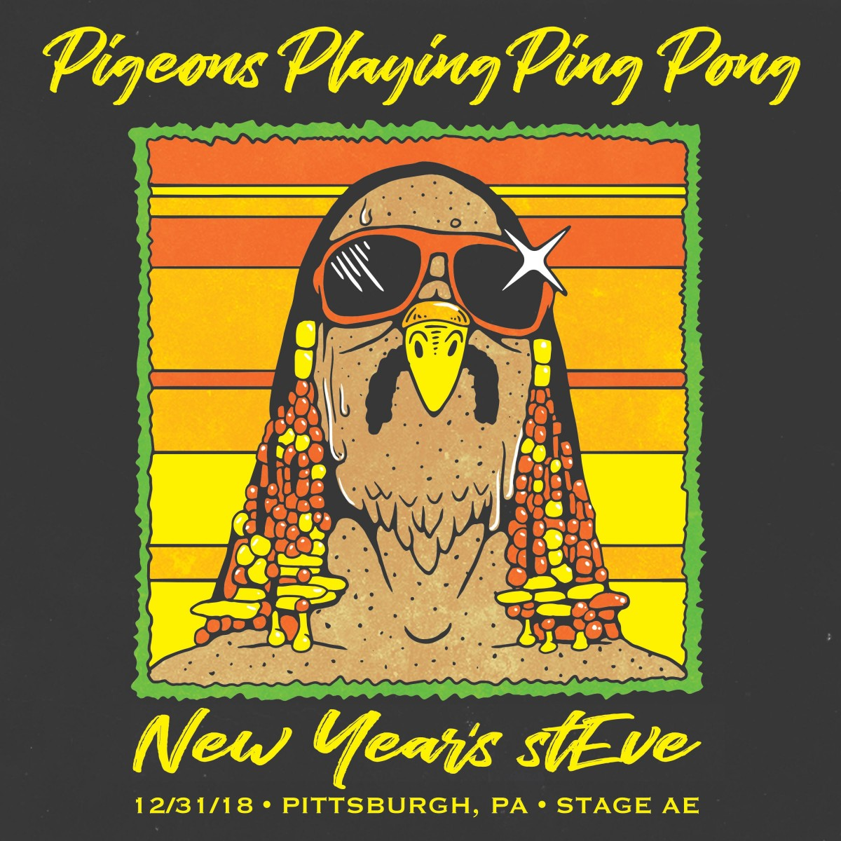 Pigeons Playing Ping Pong Reveals Theme for NYE shows