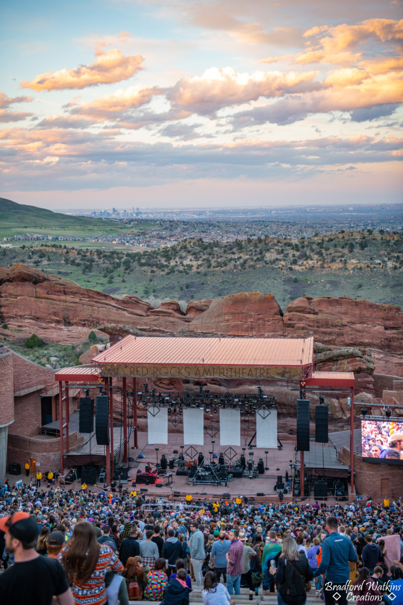 Photos: Lotus at Red Rocks, April 27, 2019, by Bradford Watkins Creations