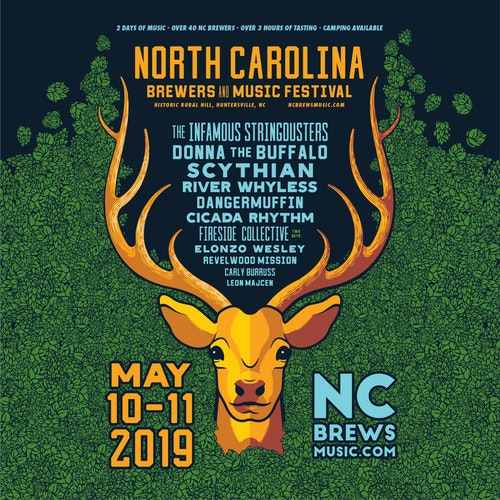 What's Up Weekly – May 6-12 – North Carolina Brewers and Music Festival, LEAF, TAUK, Goose & more!