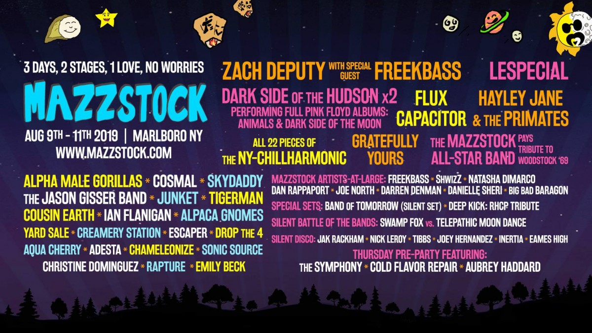 3 Days – 2 Stages – 1 Love – No Worries – Interview with Mazzstock Organizer Vinny – August 9-11, 2019