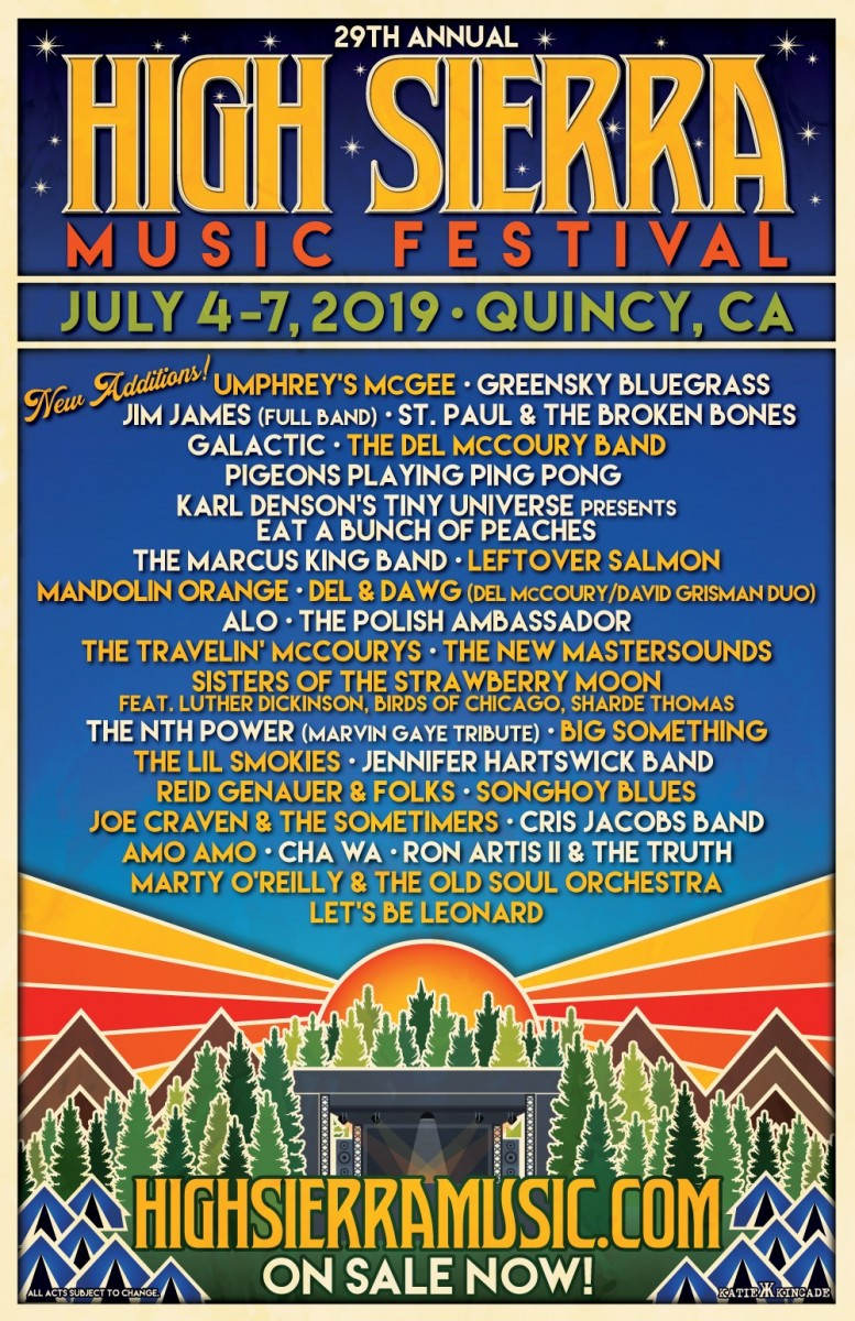 Festival Preview: High Sierra Music Festival is Best Fest in The West