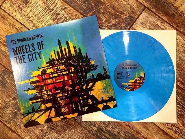 Album Review: Drunken Hearts, Wheels of The City