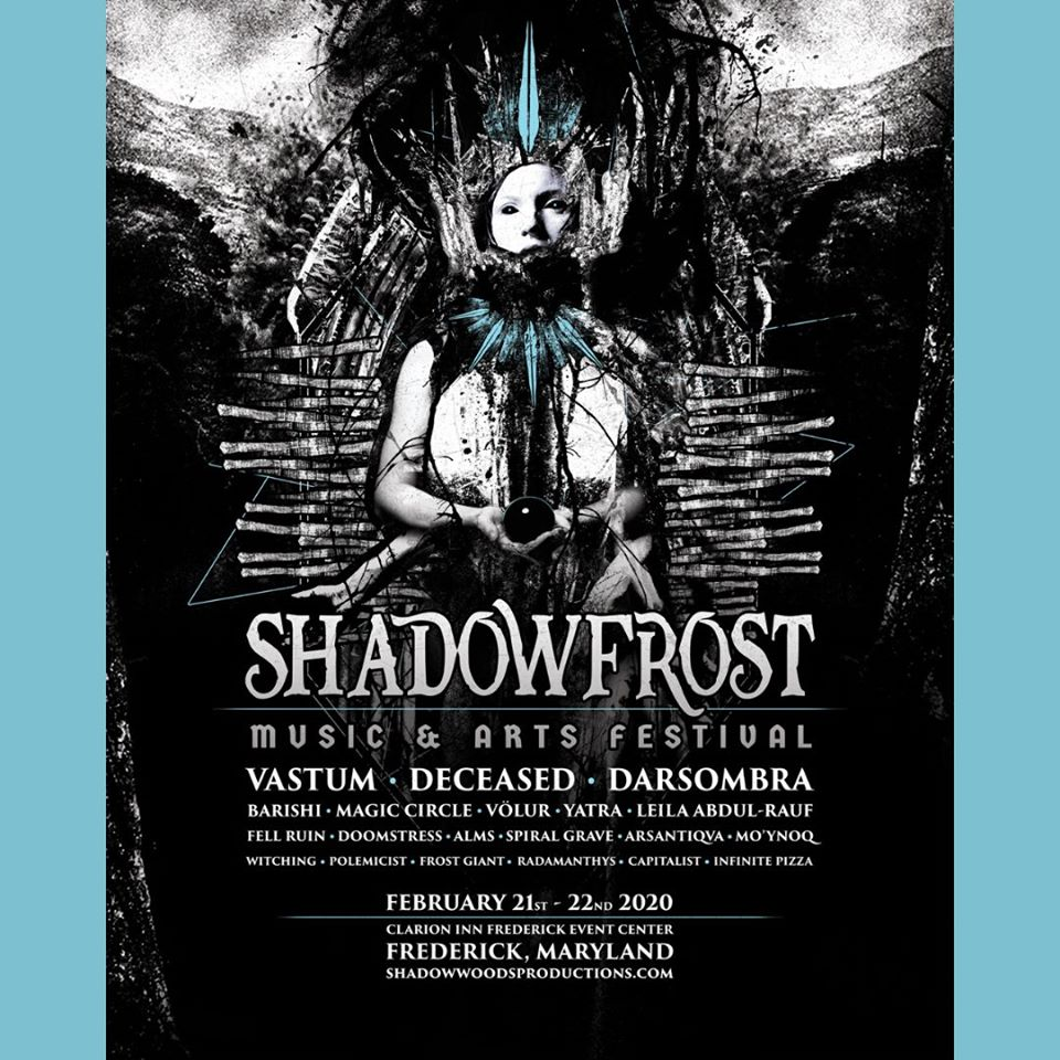 Festival Preview: Shadow Frost Music and Arts Festival is a Metal Hotel Fest in Frederick February 21-22, 2020