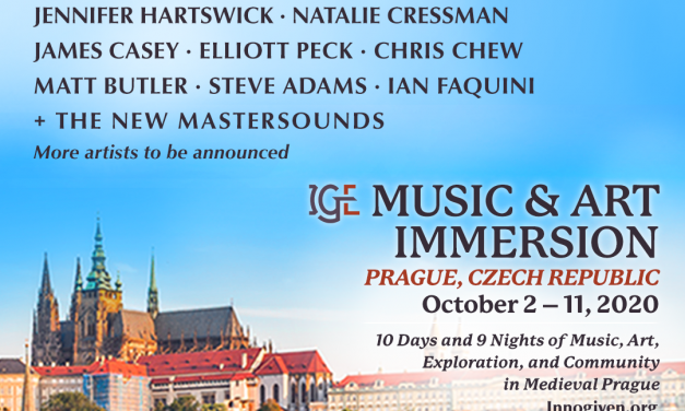 IGE Music & Art Immersion Announces Musical Ambassador Lineup, Engages Prague, Czech Republic for Location of Sixth Annual Summit