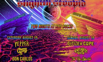 Full Lineup Announced for Slightly Stoopid 2 nights at Red Rocks