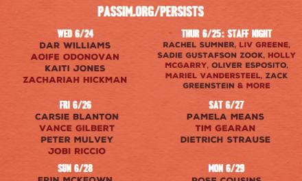 Club Passim Announces the Passim Persists Streaming Festival