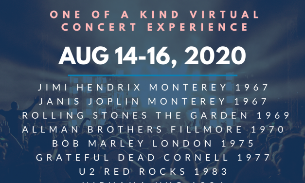 "Radio Woodstock Presents   ""The Greatest Festival of All Time"" One of a Kind Virtual Concert Experience  August 14-16, 2020"