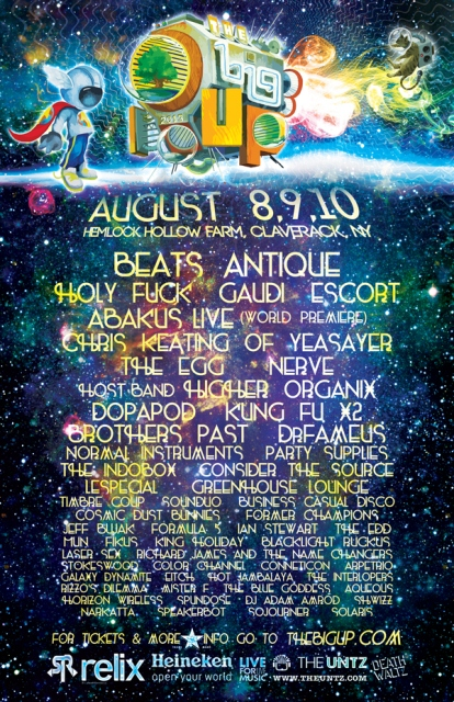 The Big Up Music and Arts Festival Phase Two Announcement