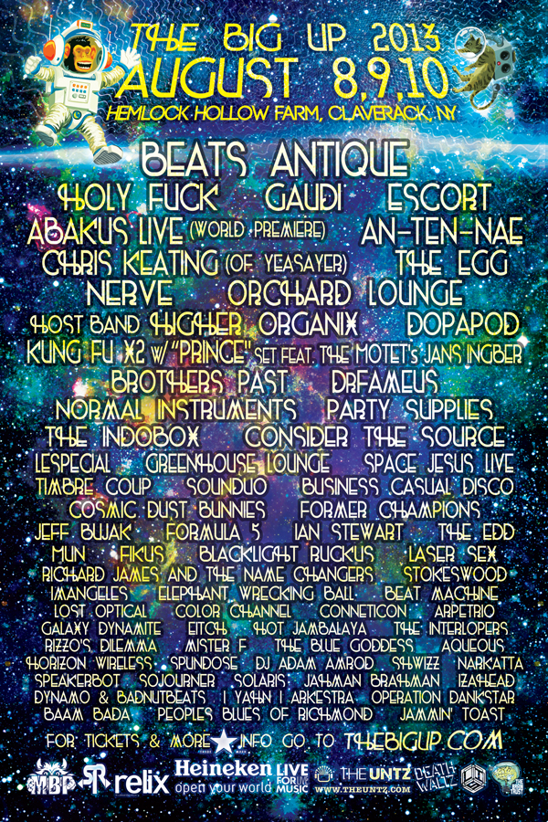 The Big Up Music & Arts Festival Phase Three lineup announcement