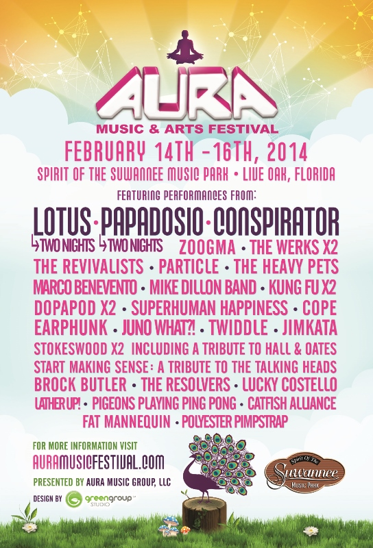 AURA MUSIC & ARTS FESTIVAL ADDS ARTISTS TO THE LINEUP AND ANNOUNCES THE AURA VIP PROGRAM