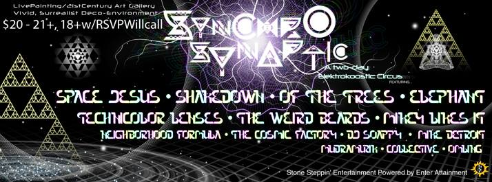 Just Announced: SynchroSynaptic: A Two Day Elektrokoostic Circus!
