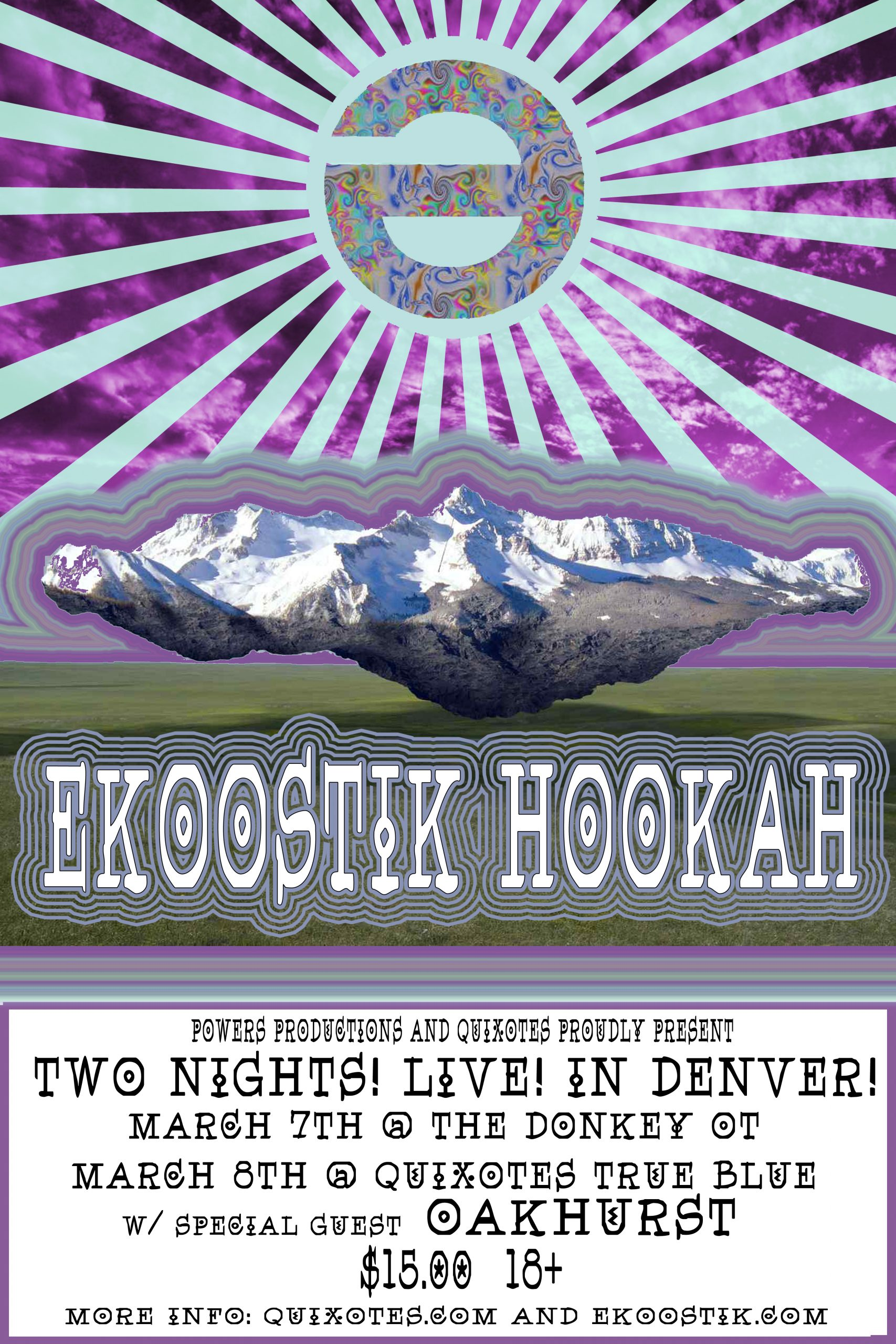 ekoostik hookah Announces Colorado tour and return to JAMmaica
