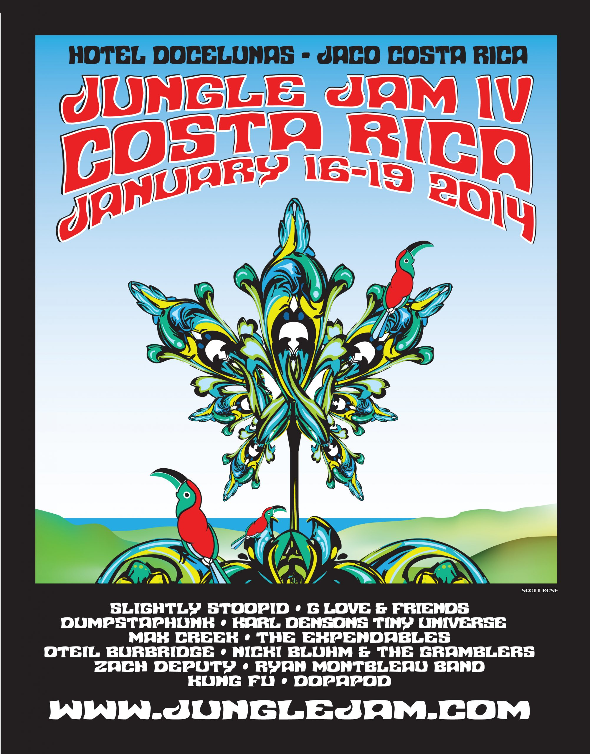 Exclusive Interview with Founder of Jungle Jam – Costa Rica, Jan. 16-19 2014