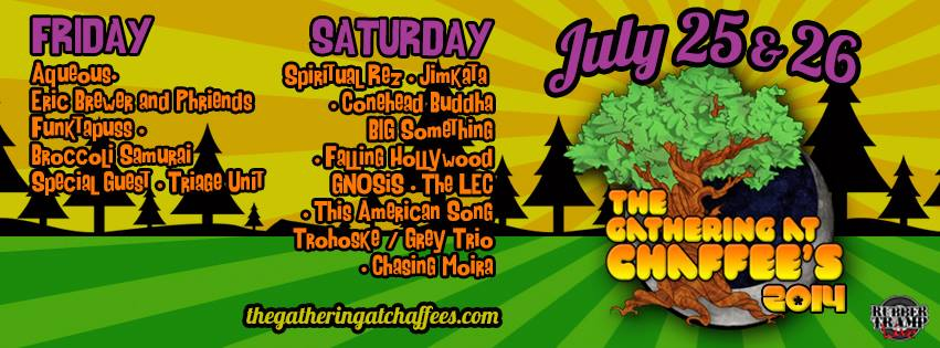 The 34th Annual Gathering at Chaffee's July 25 & 26 in Girard, PA